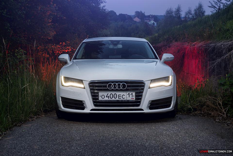Фотосет Audi A7 Sportback - Парк Яхрома