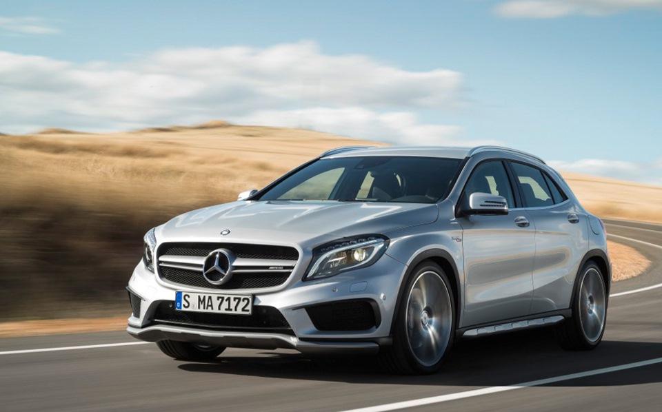 Колонка Кларксона: тест-драйв Mercedes GLA AMG 4MATIC