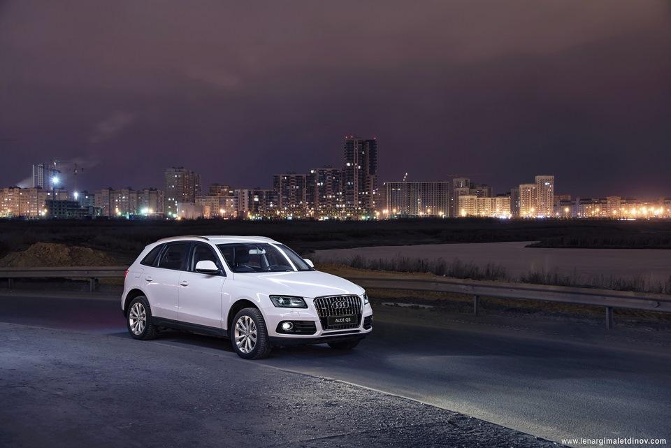 """Тест-драйв Audi Q5 2.0 Quattro tiptronic (225 л.с.) — """"трёхдневный тест"""""""