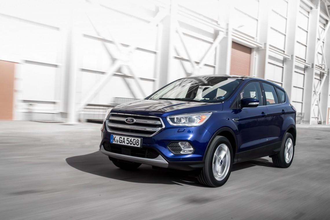 Обновленная Ford Kuga встанет на конвейер в Елабуге в декабре 2016