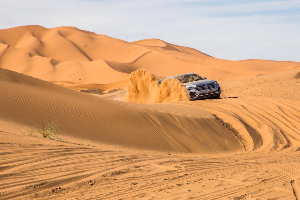 Как добраться живым из Марракеша в пустыню Сахара на VW Touareg