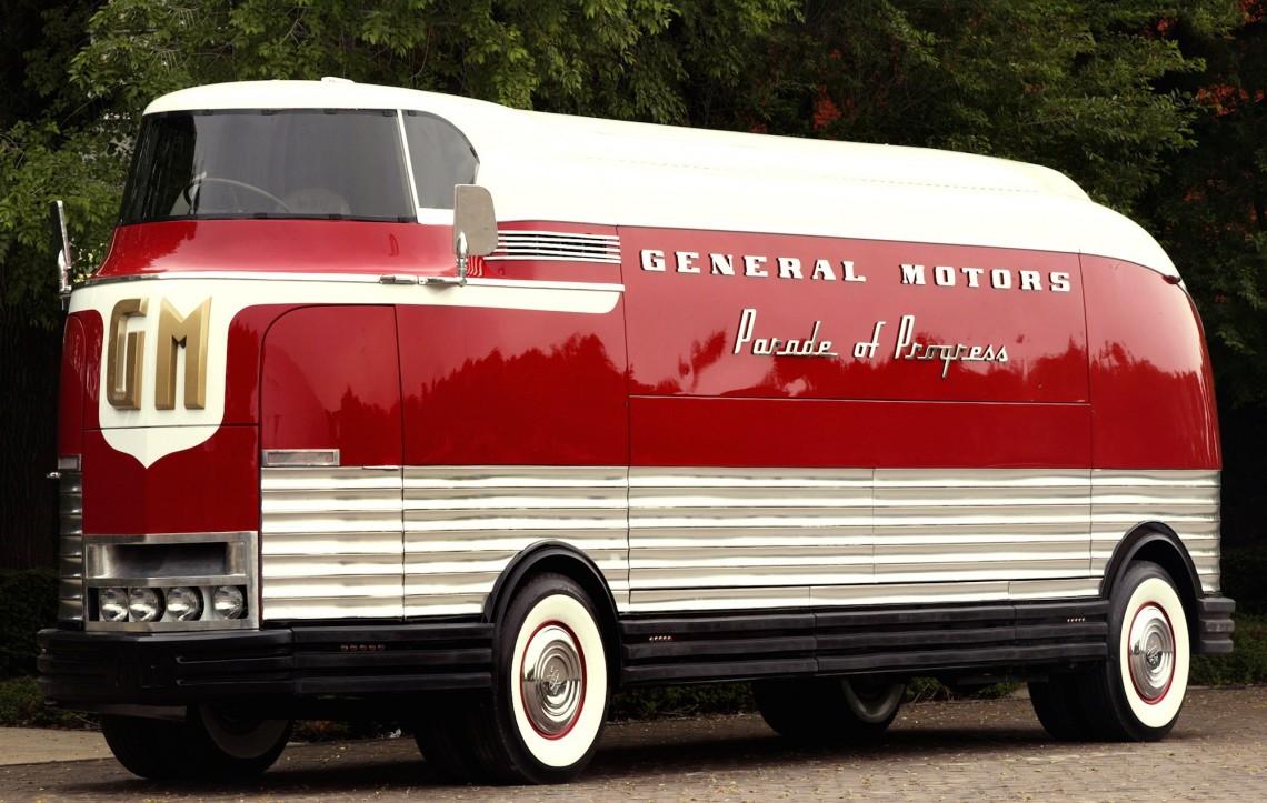 #НеизвестнаяАмерика, часть 4: General Motors Futurliner Bus