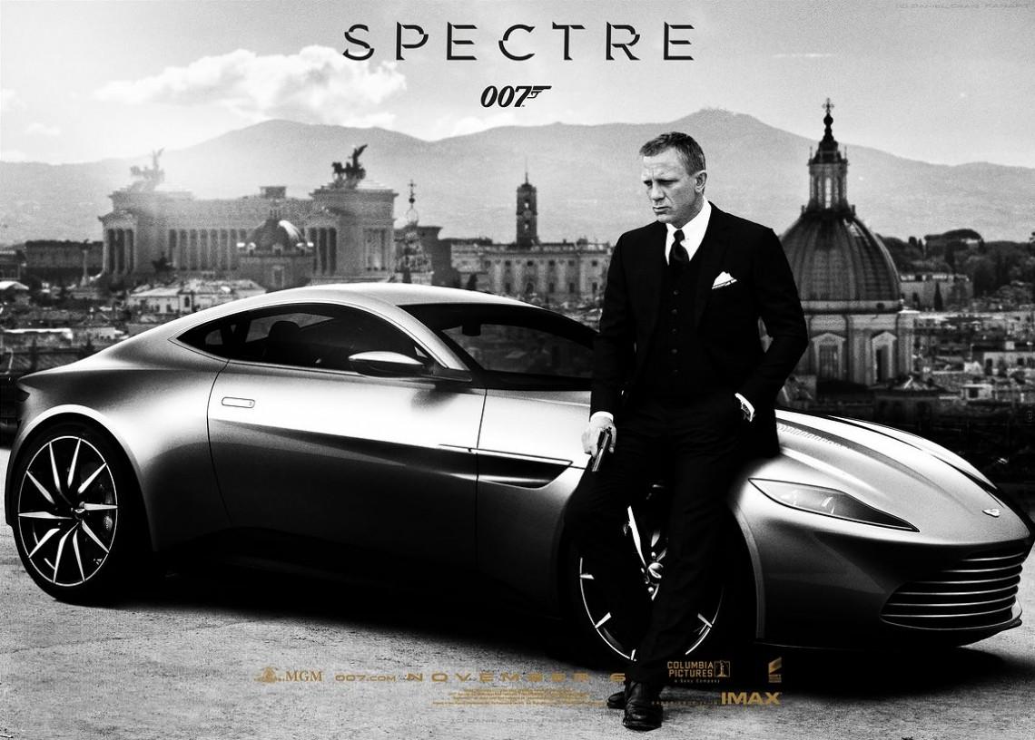 Агент 007 - практически весь Спектр шикарного фильма для фанатов!!!