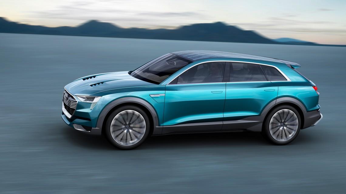 Электрические Audi совсем скоро массово встанут на конвейер