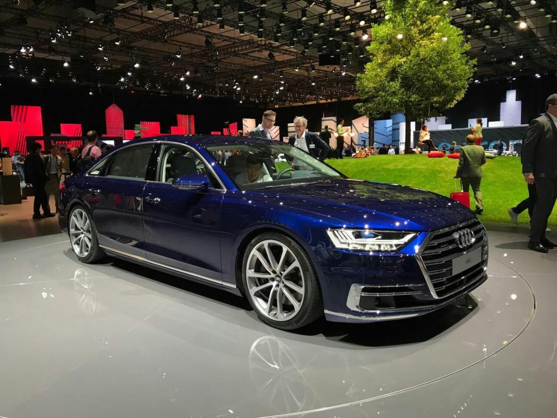 Будущее наступило – Audi A8 2018 с автопилотом! Первый взгляд на флагман.