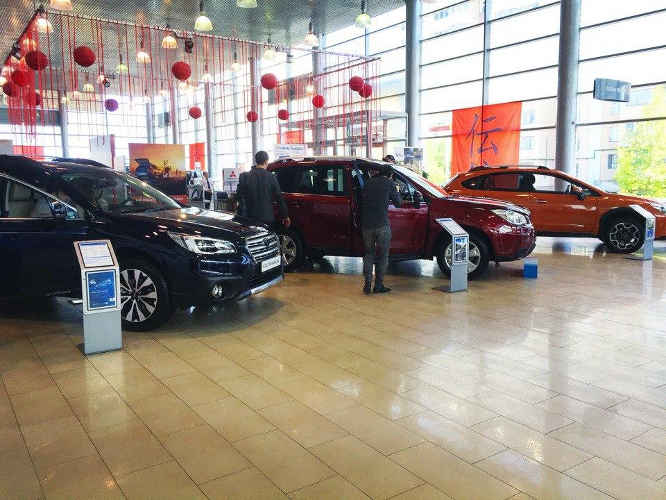 Открытие центра Subaru в Казани и интервью с директором Subaru Россия