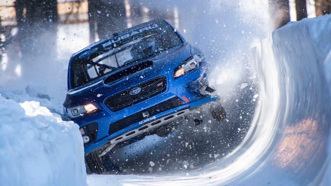 Subaru WRX STI и старейшая бобслейная трасса