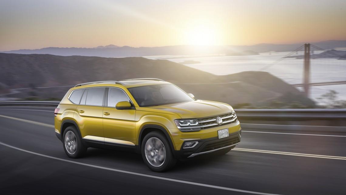 Тест-драйв Volkswagen Teramont: первые впечатления