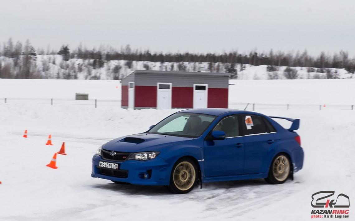 """Открытие сезона Winter Rally Sprint 2016 на """"Казань-ринге"""" - 16 января"""