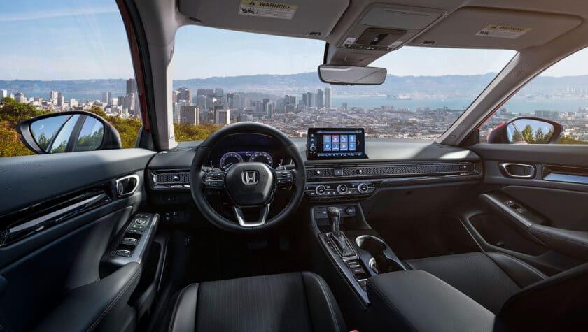 Салон Honda Civic